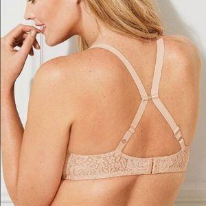 Wacoal Intimates & Sleepwear - Wacoal Halo Stretch Lace Underwire Bra 38DD Tan